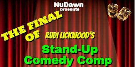 The Final of Rudi Lickwood's 5 Minutes to Shine tickets