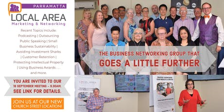 Local Area Marketing & Networking - Parramatta tickets