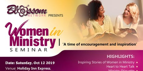 Blossom Seminar for Women in Ministry tickets