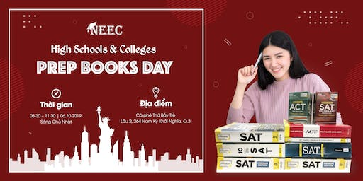 HIGH SCHOOLS & COLLEGES PREP BOOKS DAY
