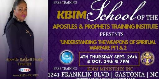 KBIM SCHOOL OF THE APOSTLES  &  PROPHETS  TRAINING INSTITUTE