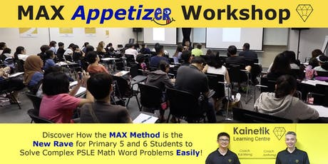 MAX Appetizer Workshop (MAW) 2019 tickets