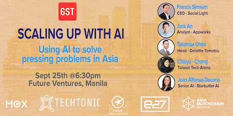 Scaling Up Manila: Using AI to Solve Pressing Problems in Asia tickets