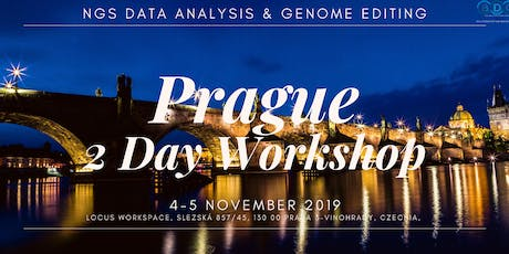 Prague | 2-day training course in Next Generation Sequencing Data Analysis & Genome Editing tickets