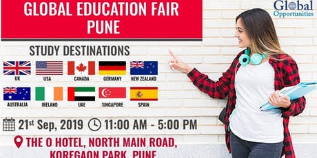 Global Education Fair Pune 2019 tickets