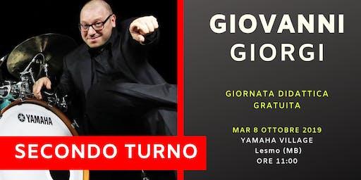 Giornata con Giovanni Giorgi (Secondo Turno)