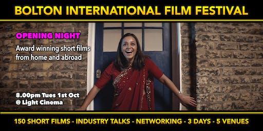 Opening Night - Bolton Film Festival