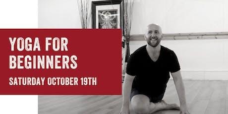 Beginners Yoga Workshop tickets