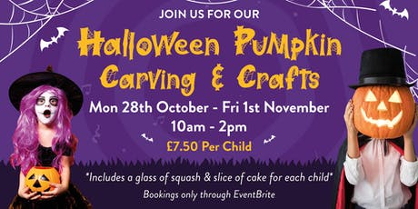 Halloween Pumpkin Carving & Crafts! tickets