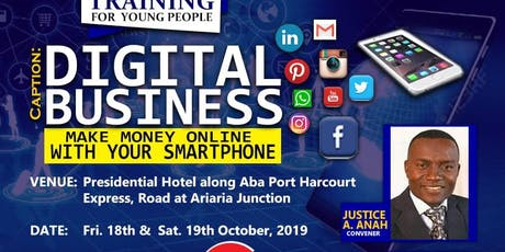 Digital Business (Make  money with your smartphone) tickets