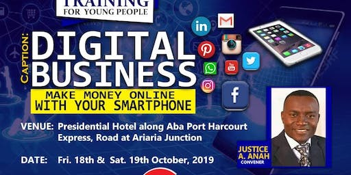 Digital Business (Make  money with your smartphone)