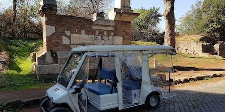 Minicar Tour - Parco Appia Antica biglietti