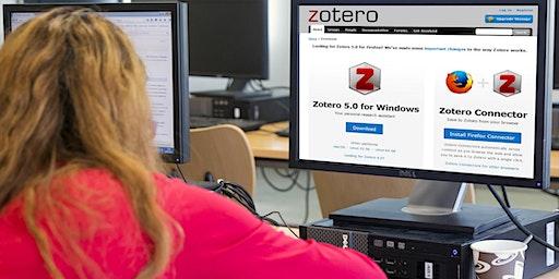 Ateliers libres Zotero - BU Belle Beille