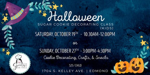 Let's Get Spooky Kid's Cookie Decorating Class