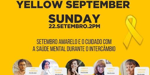 Setembro Amarelo: Cuidado com a Saúde Mental Durante o Intercâmbio