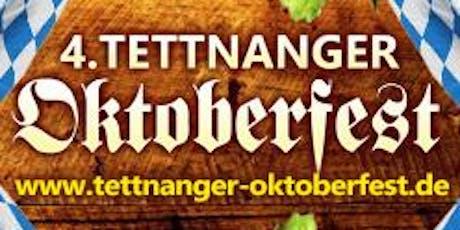 4. Tettnanger Oktoberfest - Freitag, 18.10.2019 Tickets