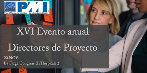 EVENTO ANUAL - PMI Barcelona Spain Chapter (Project Management Institute)