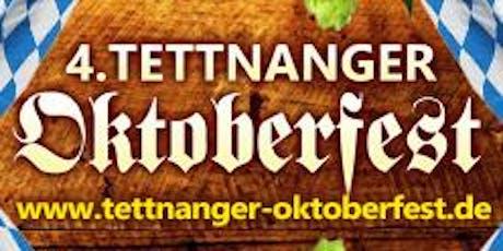 4. Tettnanger Oktoberfest - Samstag, 19.10.2019 Tickets