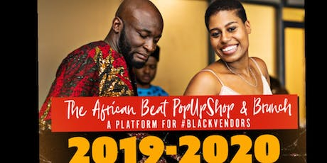 The African Beat POP UP SHOP and BRUNCH tickets