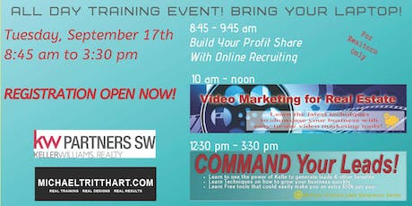 Copy of Video Marketing for Real Estate & Command Your Leads tickets