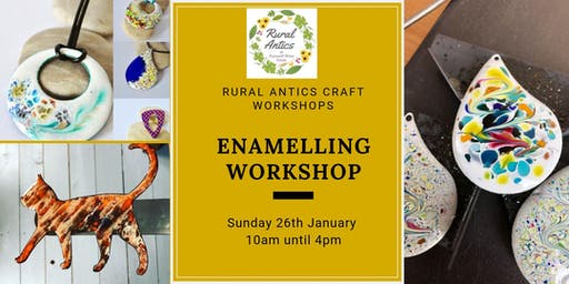 Beginners Enamelling Workshop