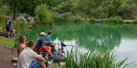September Lets Go Family Fishing  *FREE * (please book1 ticket per family) tickets
