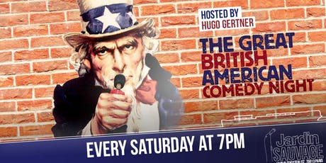 The Great British American Comedy Night billets