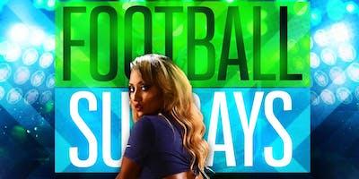 FOOTBALL SUNDAYS @ HOOKAH UP LOUNGE