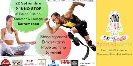 SportivaMente - per il benessere psico-fisico di tutti biglietti
