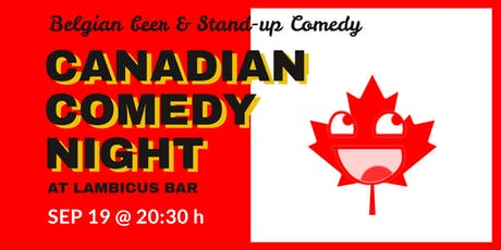Canadian Comedy Night at Lambicus Bar entradas