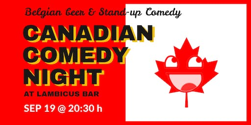 Canadian Comedy Night at Lambicus Bar