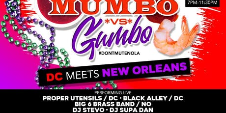 #DontMuteDC Meets #DontMuteNola tickets
