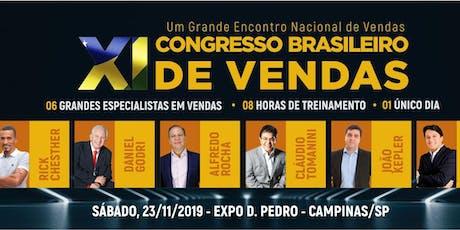 11º CONGRESSO BRASILEIRO DE VENDAS ingressos