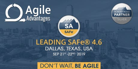 Leading SAFe®4.6 - SA Certification Dallas, TX, USA tickets