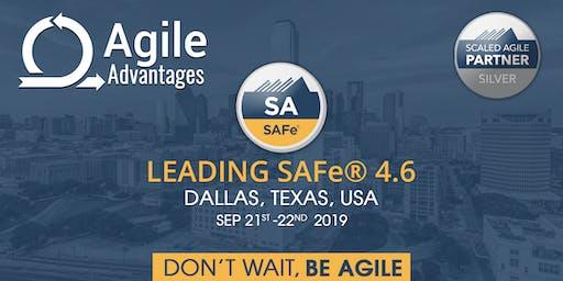 Leading SAFe®4.6 - SA Certification Dallas, TX, USA