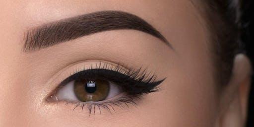 Pretty Woman - Eyebrows stroke by stroke, shading techniques training