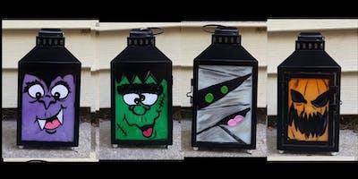 Spooky Fun Halloween Lantern Family Paint Day-Eis Cafe Europa and Tiki Tee
