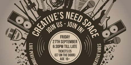 Creative's Need Space tickets