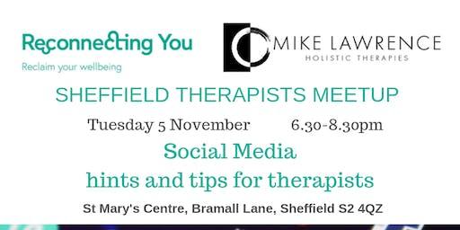 Sheffield Therapists Meetup  Nov 19