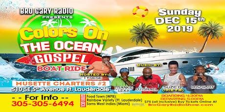Bro Gary Radio FLORIDA Boat Ride tickets