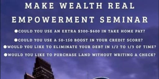 Make Wealth Real (MWR) Clifton Park NY Meet Up