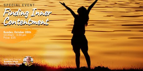 Finding Inner Contentment: Meditation day course tickets