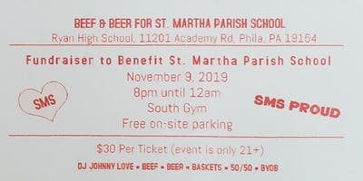 St. Martha Parish School Fundraiser