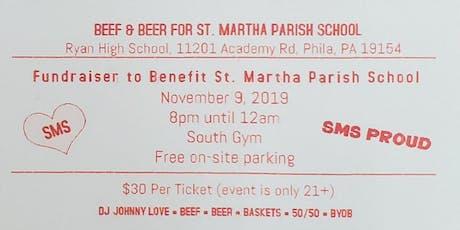 St. Martha Parish School Fundraiser tickets