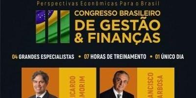 3º CONGRESSO BRASILEIRO DE GESTÃO E FINANÇAS
