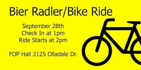 Oktoberfest Bier Radler/Bike Ride tickets