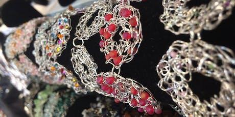 Crochet Wire Jewellery Workshop  tickets