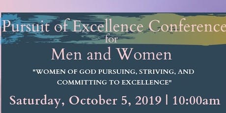 Pursuit of Excellence Conference tickets
