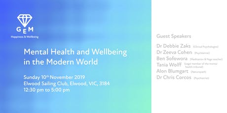 Happiness And Wellbeing In The Modern World tickets