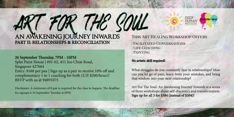 Art For The Soul: An Awakening Journey Inwards tickets